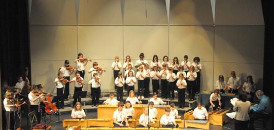 Full Ensemble - Seeger Concert