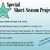 Special Short Season